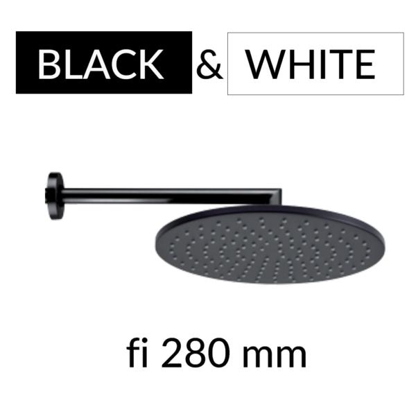 black&white deszczownica ścienna Cosmo 280