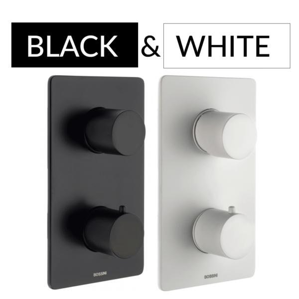 black&white Bateria podtynkowa termostatyczna OKI 2 drożna